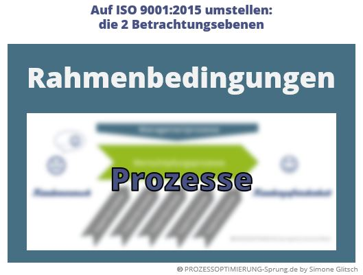 Qualitätsmanagement auf ISO 9001:2015 umstellen